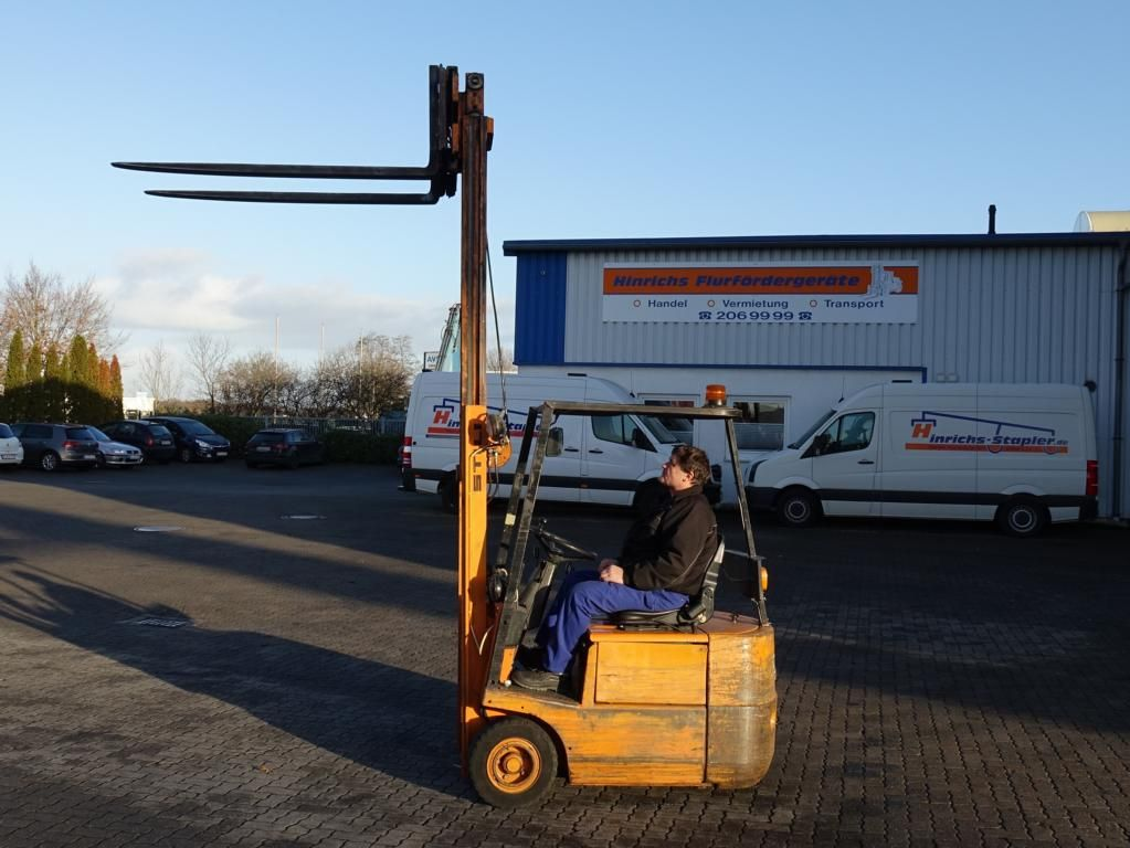 Still EFG1.5/5004 Electric 3-wheel forklift