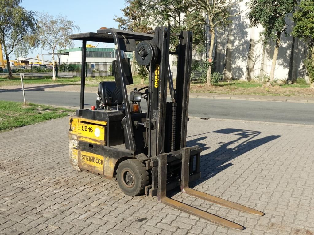 Steinbock Boss LE16MKIV-A-1 Electric 3-wheel forklift