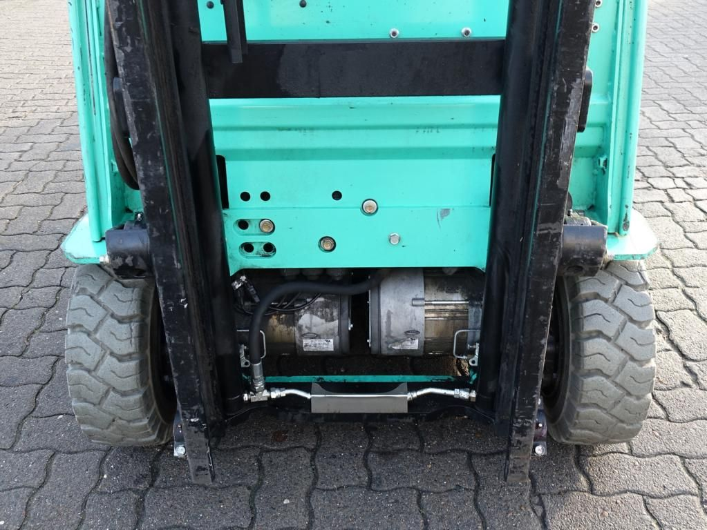 Mitsubishi FB16CPNT Electric 3-wheel forklift