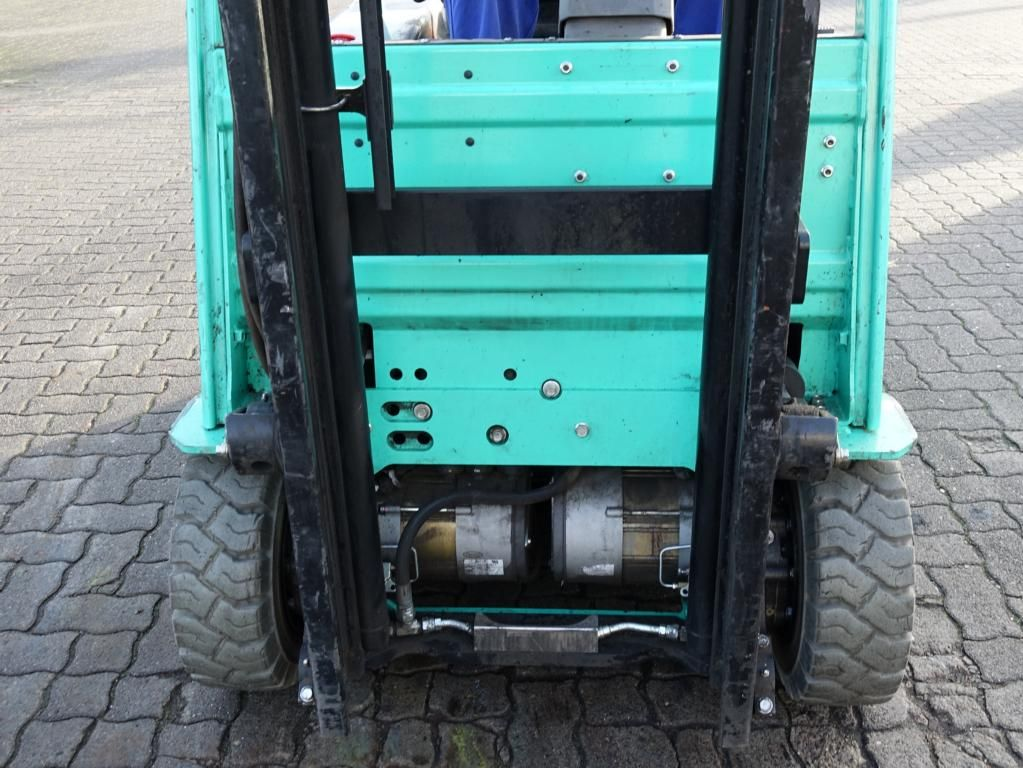 Mitsubishi FB16CPNT Electric 3-wheel forklift