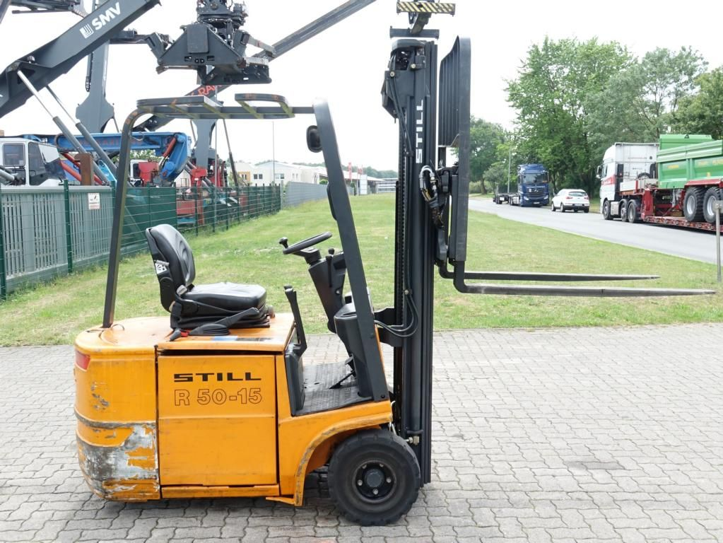 Still R50-15 Electric 3-wheel forklift