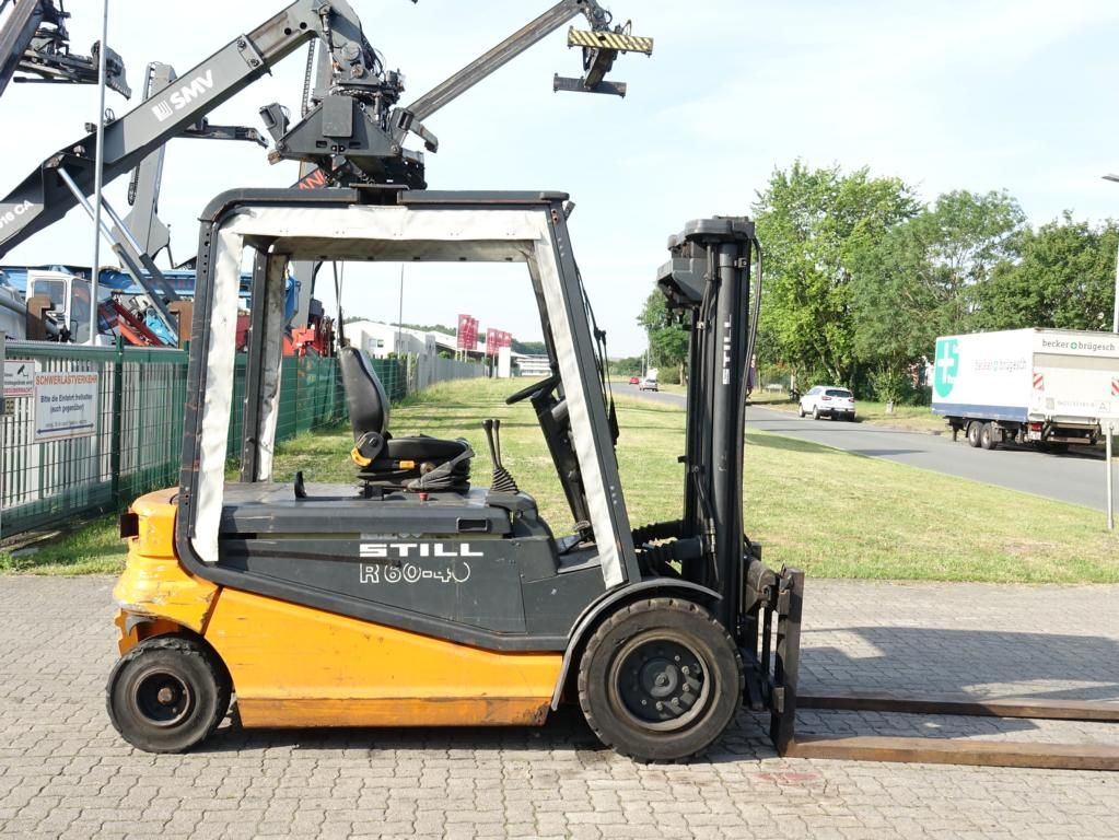 Still R60-40 Electric 4-wheel forklift www.hinrichs-forklifts.com