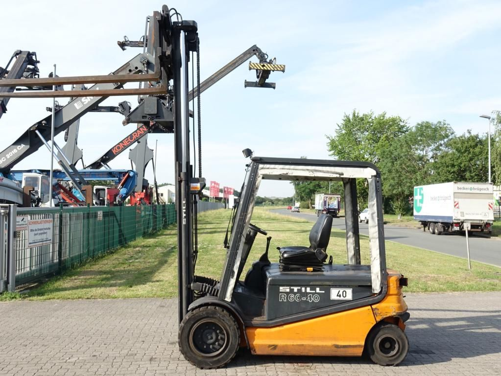 Still R60-40 Electric 4-wheel forklift