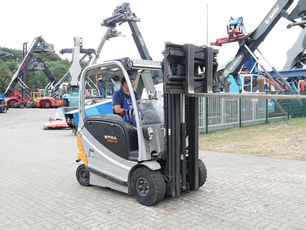 Still RX60-25 Electric 4-wheel forklift