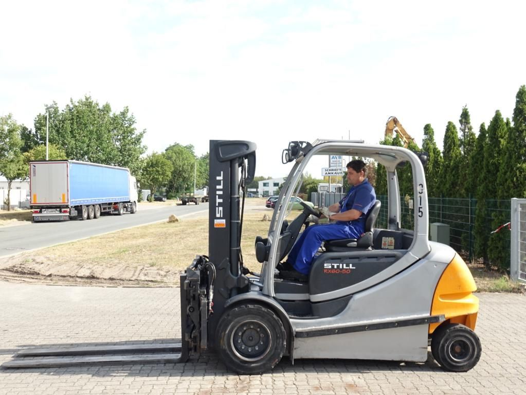 Still RX60-50 Electric 4-wheel forklift www.hinrichs-forklifts.com