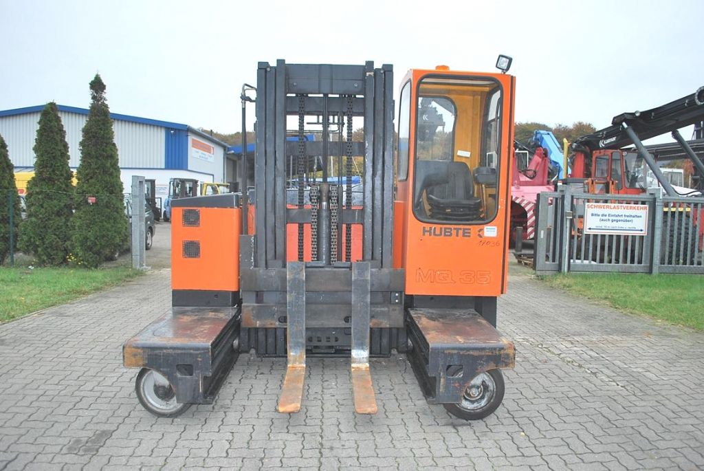 Hubtex MQ35EL/AC Four-way side loader www.hinrichs-forklifts.com