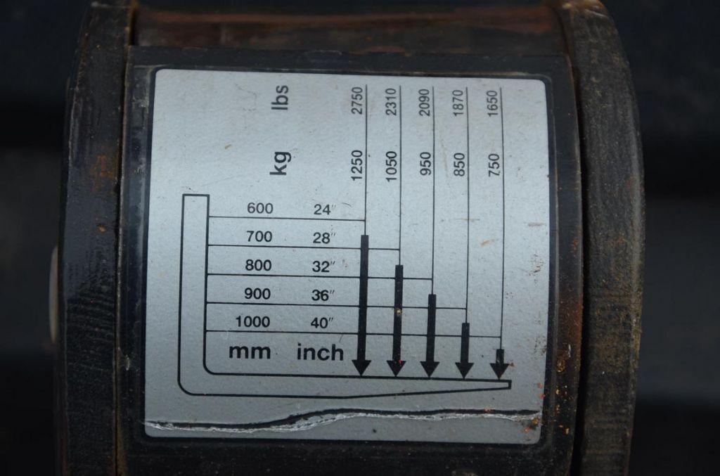BT LSV1250E/10 High Lift stacker
