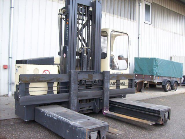 Hubtex MQ50AC (2131-PU ) Four-way side loader www.hinrichs-forklifts.com