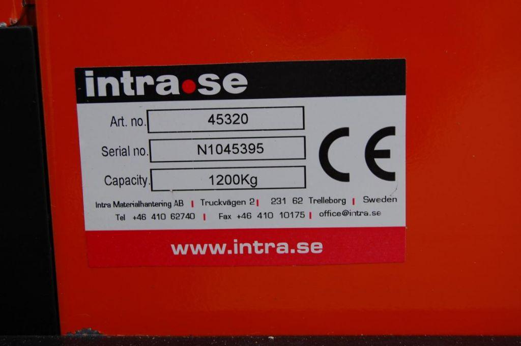 InTrac CS1232FFL Pedestrian Stacker