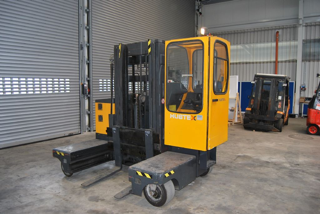 Hubtex MQ35EL-AC(2125) Four-way side loader www.hinrichs-forklifts.com