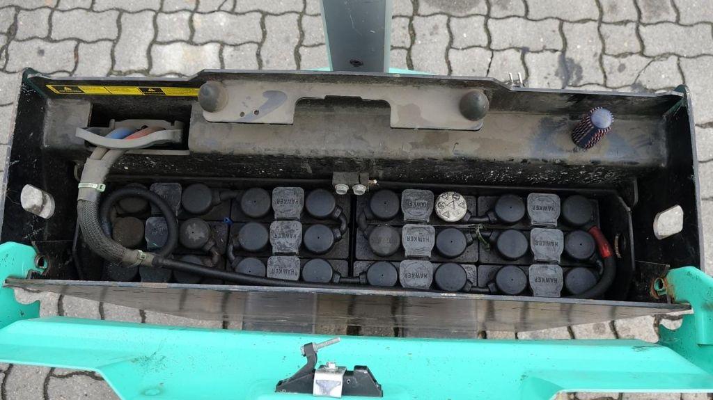 Mitsubishi PBP16N2 Electric Pallet Truck