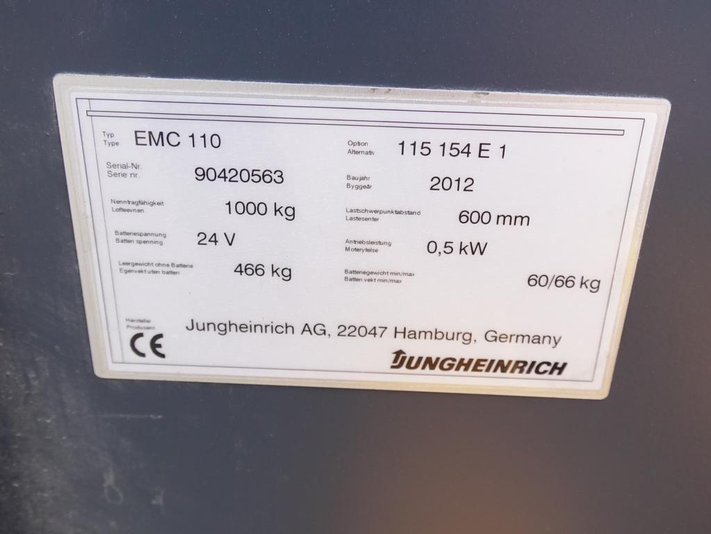 Jungheinrich EMC110 Timonato