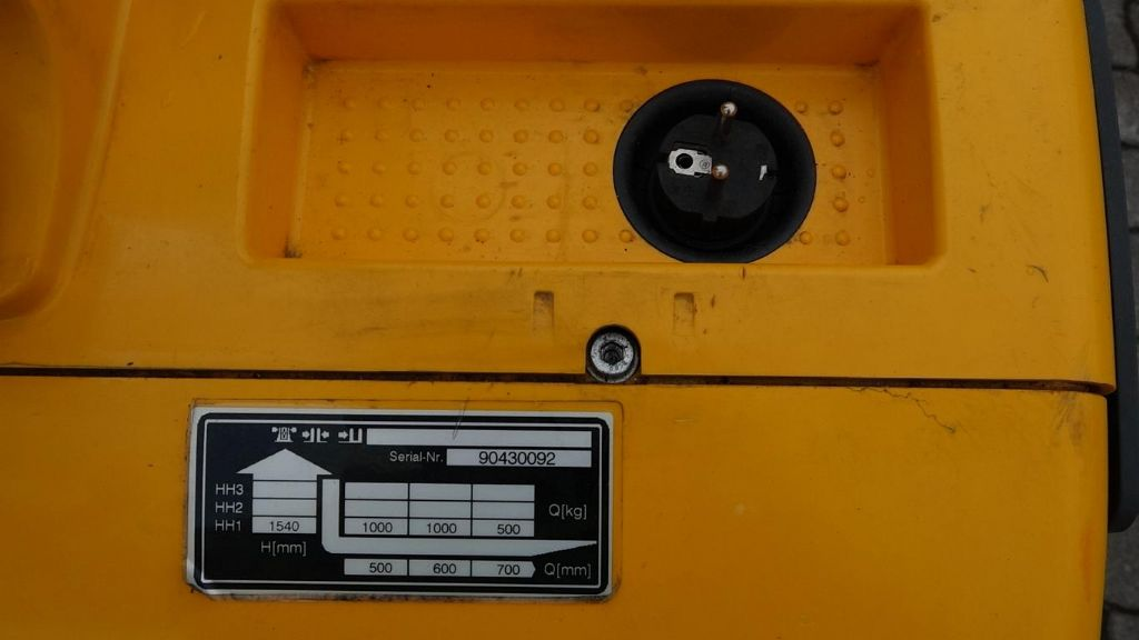 Jungheinrich EMC110 Hochhubwagen www.MecLift.de