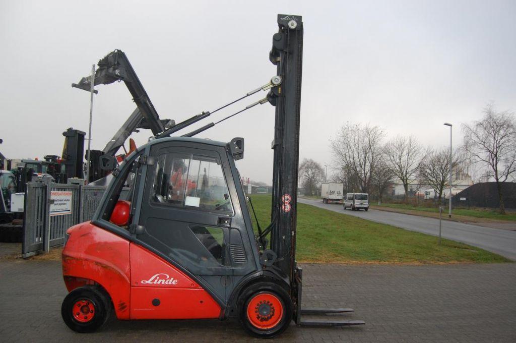 Linde H35T LPG Forklifts www.hinrichs-forklifts.com