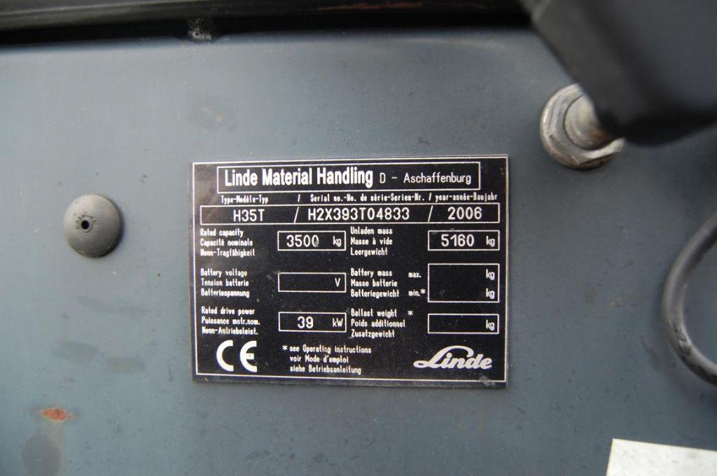 Linde H35T LPG Forklifts