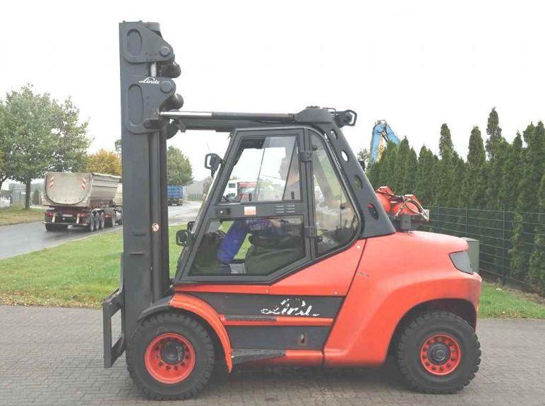 Linde H80T-02/900 LPG Forklifts www.hinrichs-forklifts.com