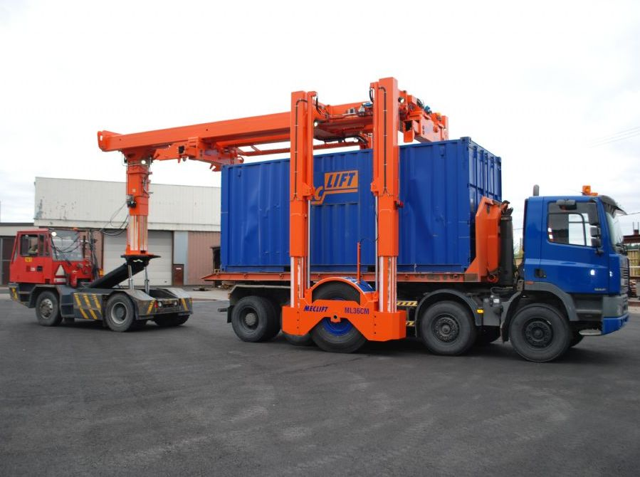 Meclift ML36CM Full-container handler www.hinrichs-forklifts.com
