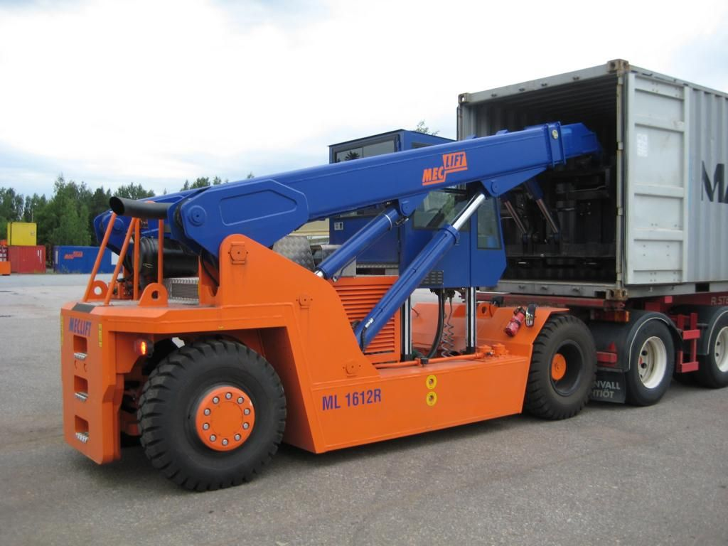 Meclift ML1612R Heavy Forklifts www.hinrichs-forklifts.com