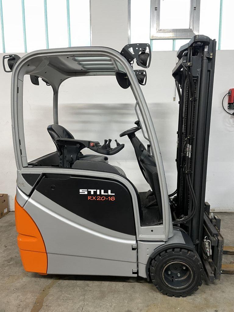 Still RX20-16 Elektro 3 Rad-Stapler www.hirtz-stapler.de