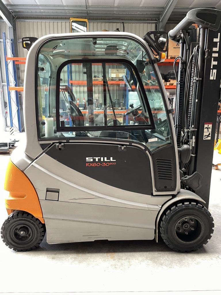 Still RX60-30L/600 Elektro 4 Rad-Stapler www.hirtz-stapler.de