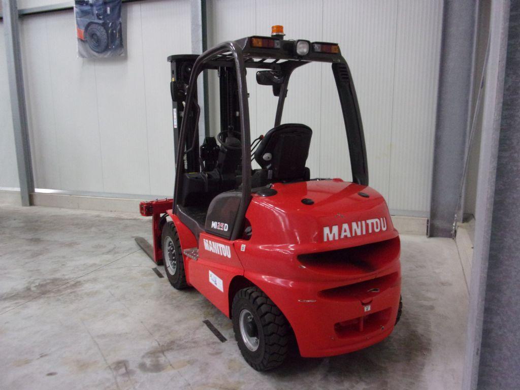 Manitou MI25D Dieselstapler www.foerdertechnik-rietberg.de