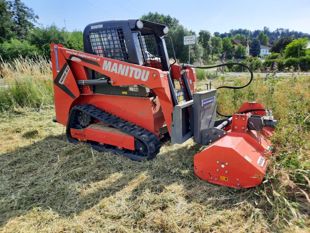 Manitou 1050 RT Demo, Mietgerät Kompaktraupenlader www.huh-staplerservice.at