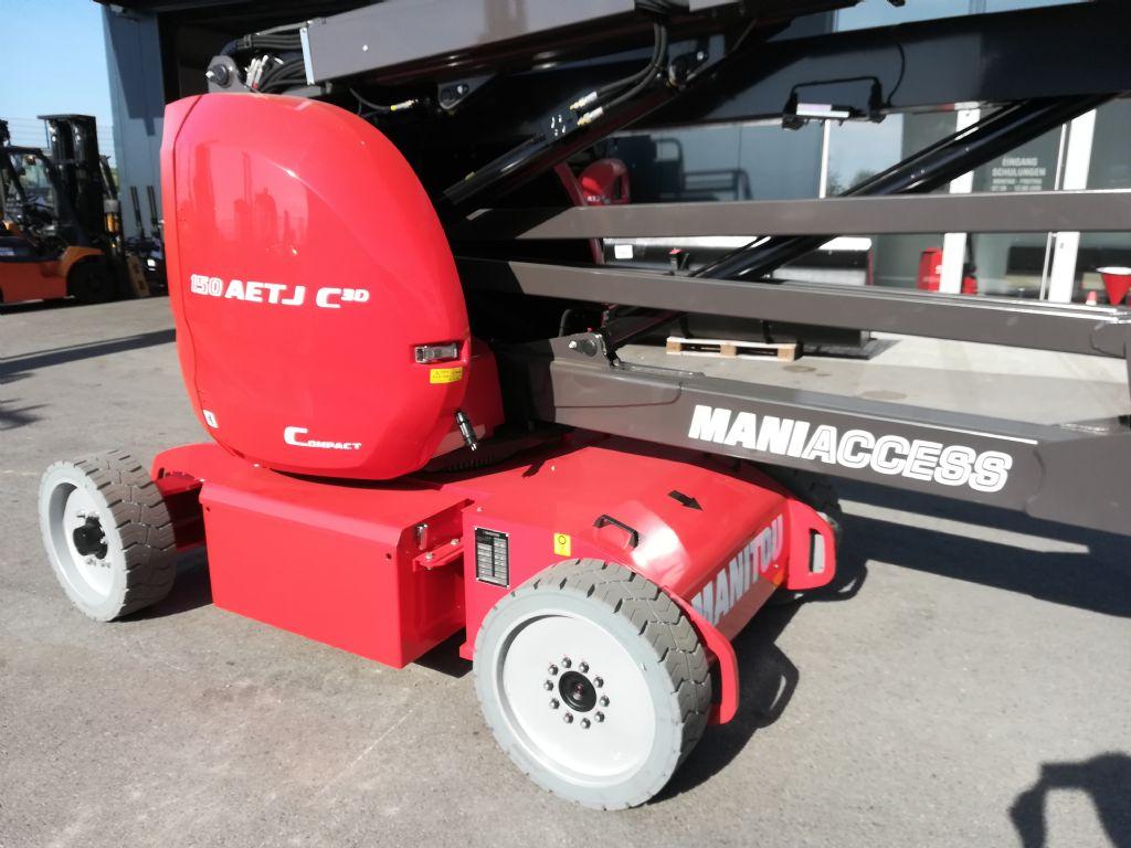 Manitou 150 AETJ 3D Gelenkteleskopbühne www.huh-staplerservice.at