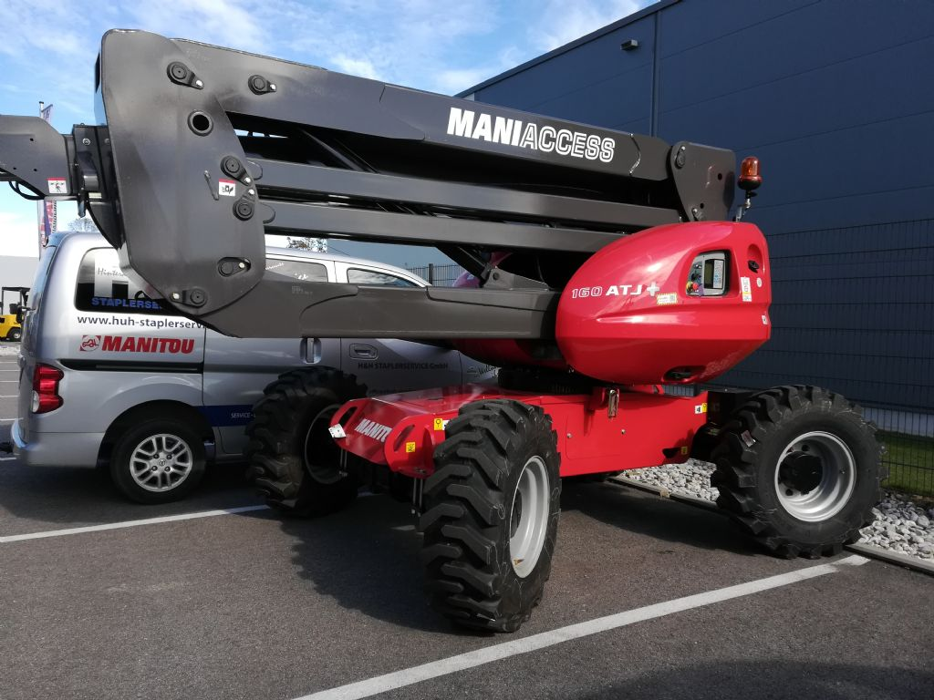 Manitou 160ATJ+RC Teleskoparbeitsbühne www.huh-staplerservice.at