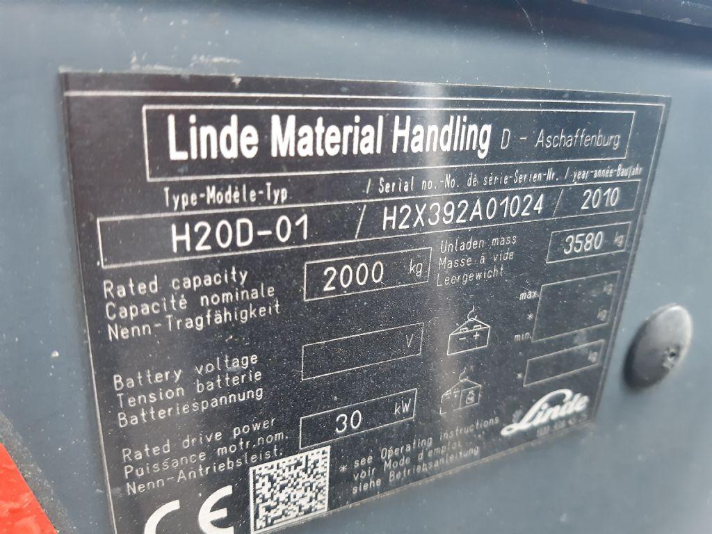 Linde H 20D-01 Dieselstapler www.huh-staplerservice.at