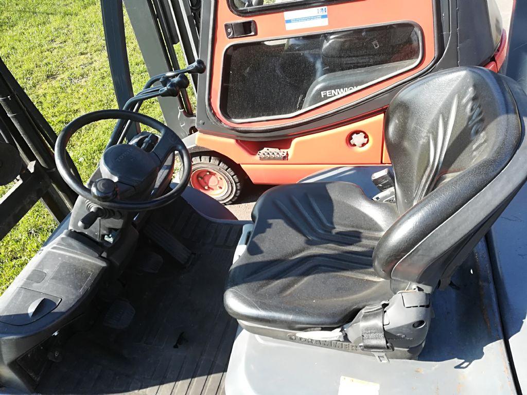 Toyota 8 FDF 25 Triplex Dieselstapler www.huh-staplerservice.at