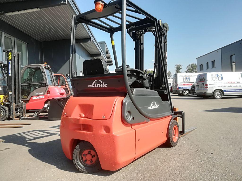 Linde E 16 C BAtterie 2018 Elektro 3 Rad-Stapler www.huh-staplerservice.at