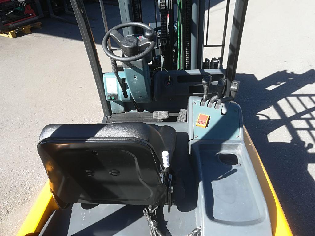 Jungheinrich EFG 316 Batterie 2019 Elektro 4 Rad-Stapler www.huh-staplerservice.at