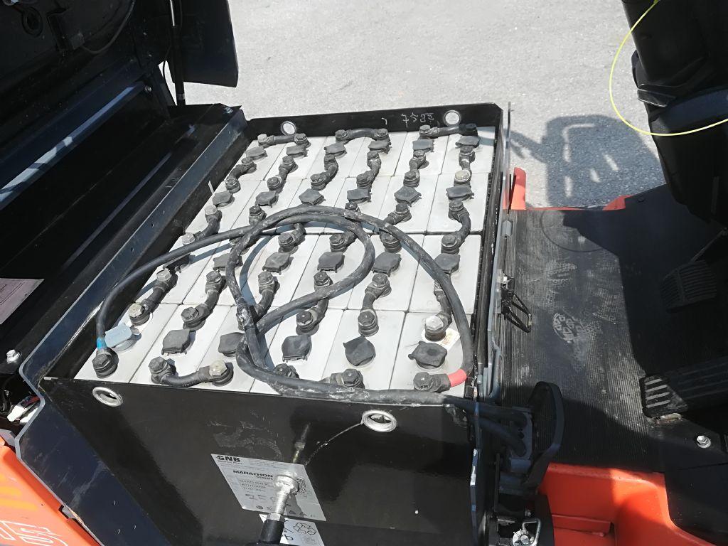 Toyota 7 FBEF 15 Batterie neu Elektro 3 Rad-Stapler www.huh-staplerservice.at