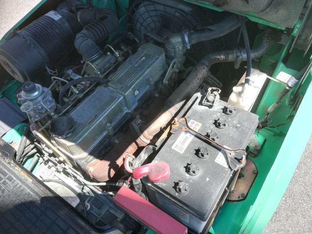 Mitsubishi FD 25 N Dieselstapler www.huh-staplerservice.at