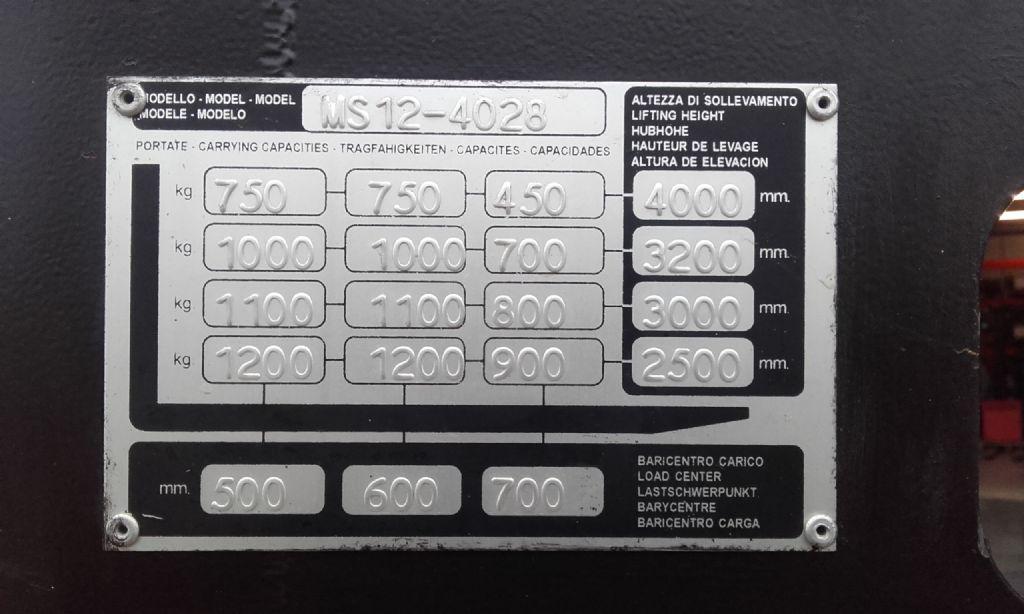Yale MS 12 Triplex Hochhubwagen www.huh-staplerservice.at