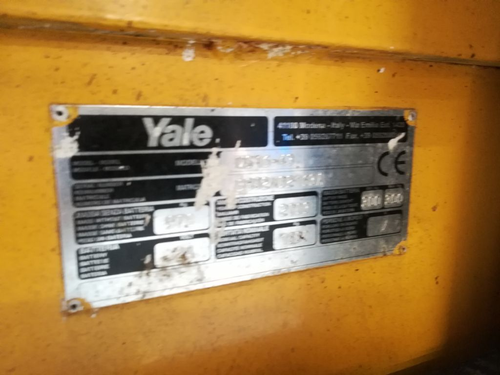 Yale MS 16 Triplex Hochhubwagen www.huh-staplerservice.at