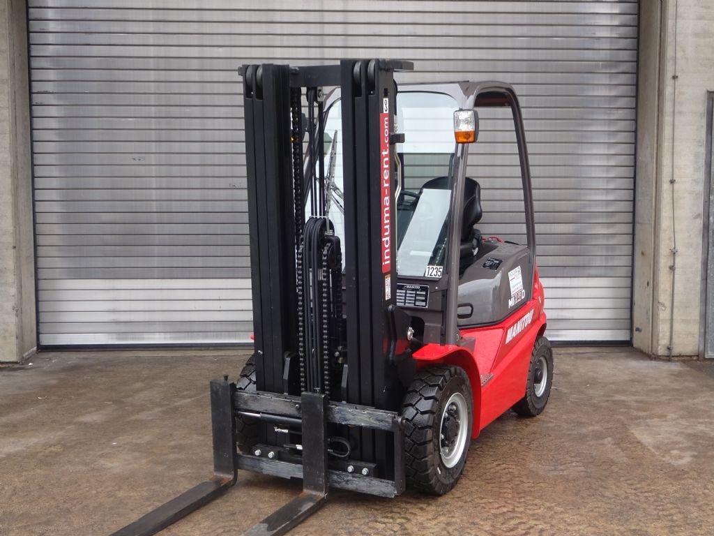 Manitou-MI 25D  Vorführgerät-Diesel Forklift-www.induma-rent.com