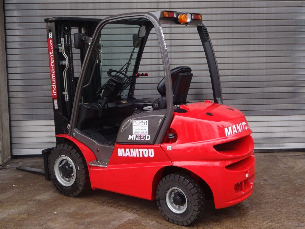 Manitou-MI 25D  Vorführgerät-Dieselstapler -www.induma-rent.com