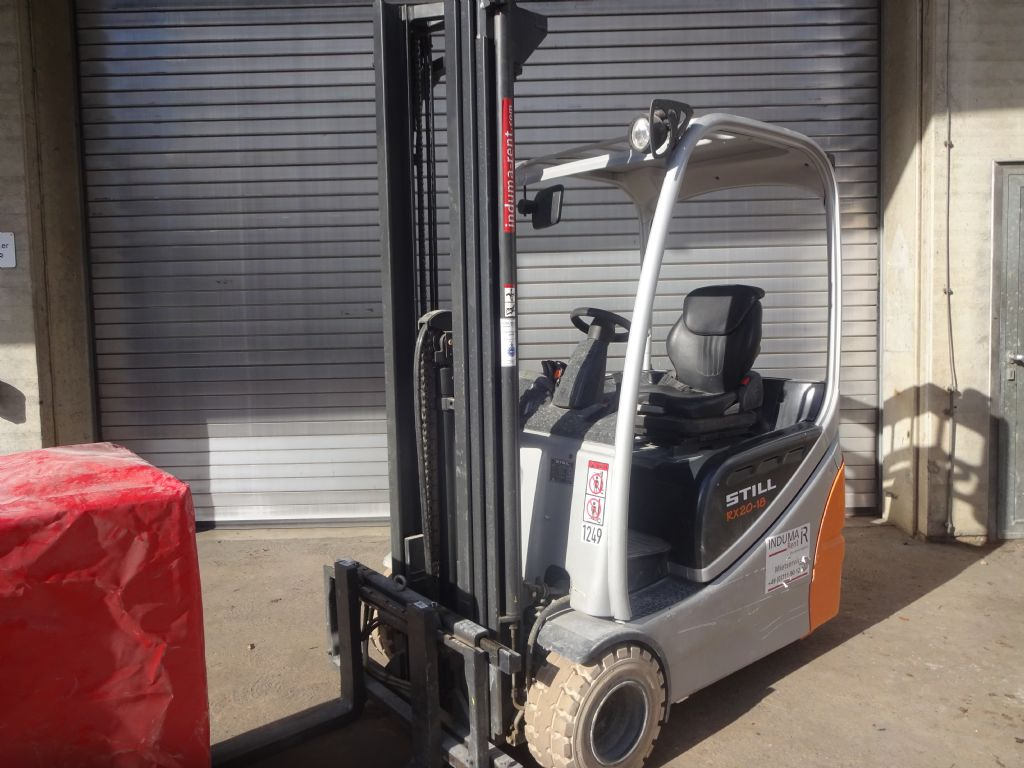 Still-RX20-18-Electric 3-wheel forklift-www.induma-rent.com