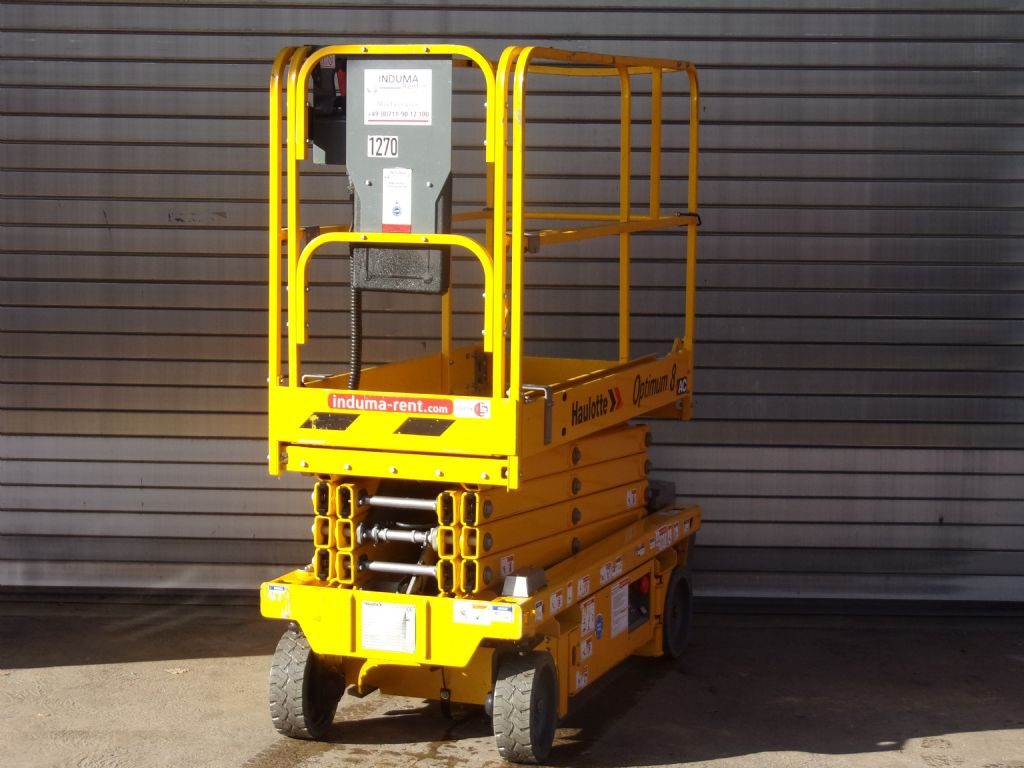 Haulotte-Optimum8-Scissor Lifts-www.induma-rent.com