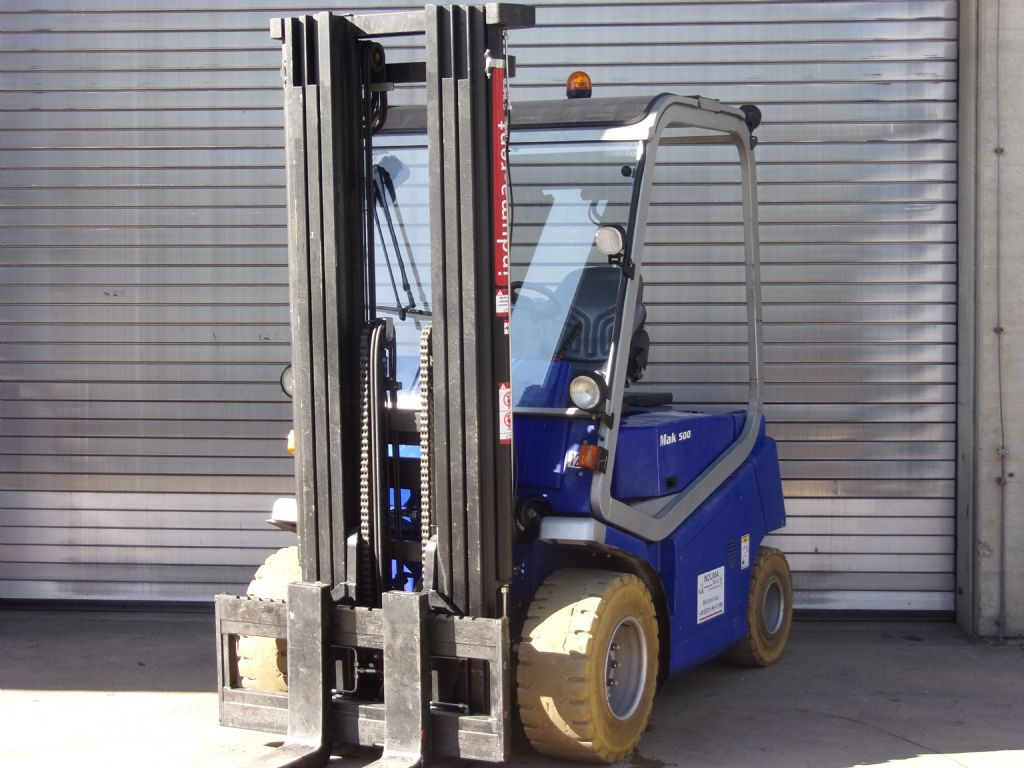 Cesab-MAK 500-Electric 4-wheel forklift-www.induma-rent.com