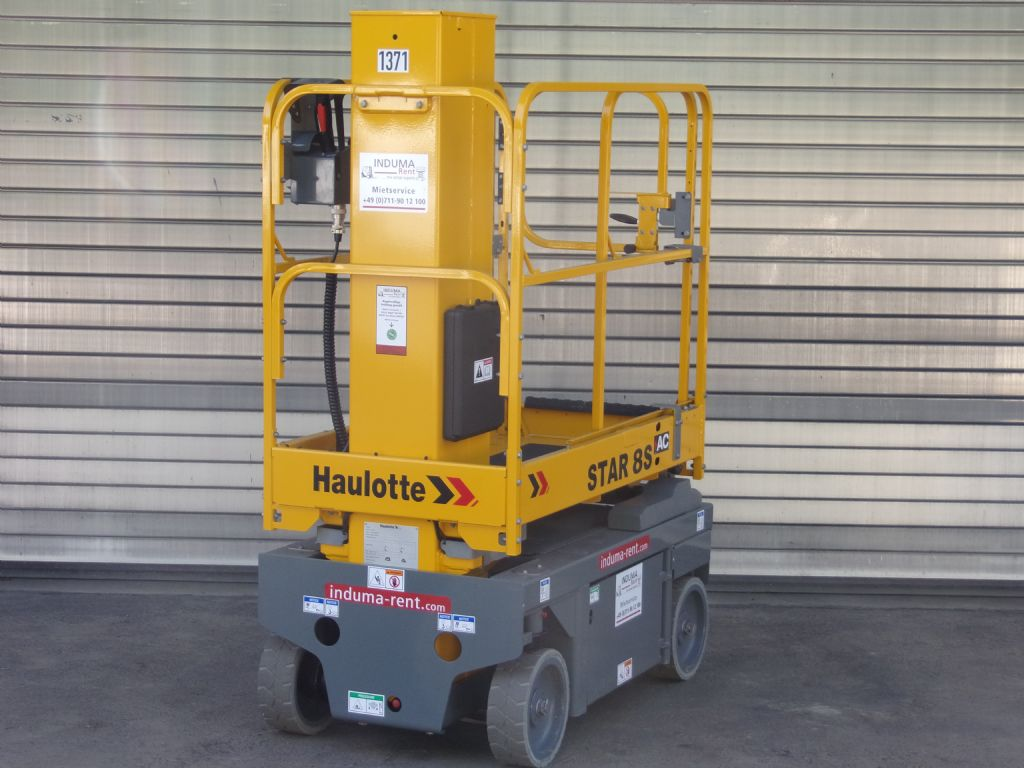 Haulotte-Star8S-Vertical / Personnel Lifts-www.induma-rent.com