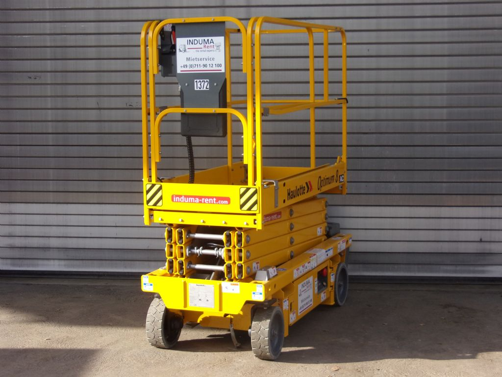 Haulotte-Optimum8 AC-Scissor Lifts-www.induma-rent.com