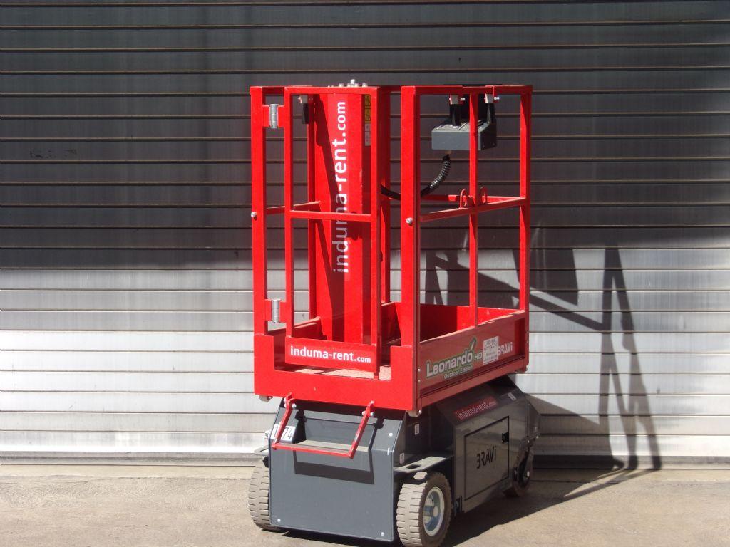 Braviisol-Leonardo HD Outdoor-Scherenarbeitsbühne-www.induma-rent.com