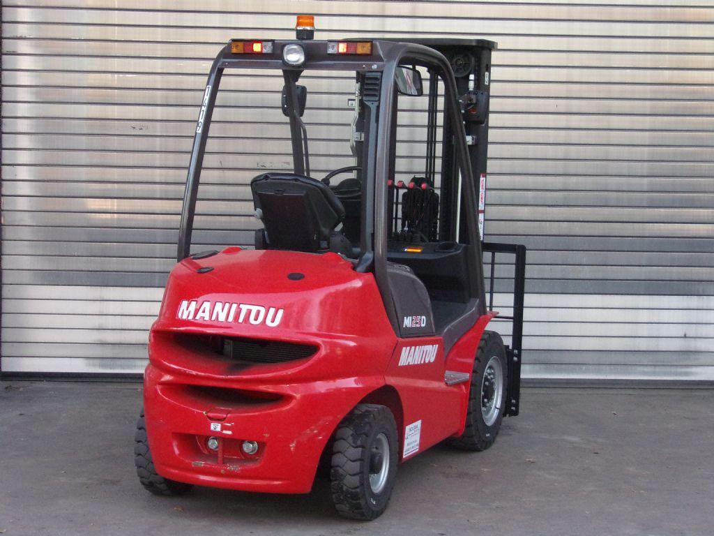 Manitou-MI 25D  -Dieselstapler -www.induma-rent.com