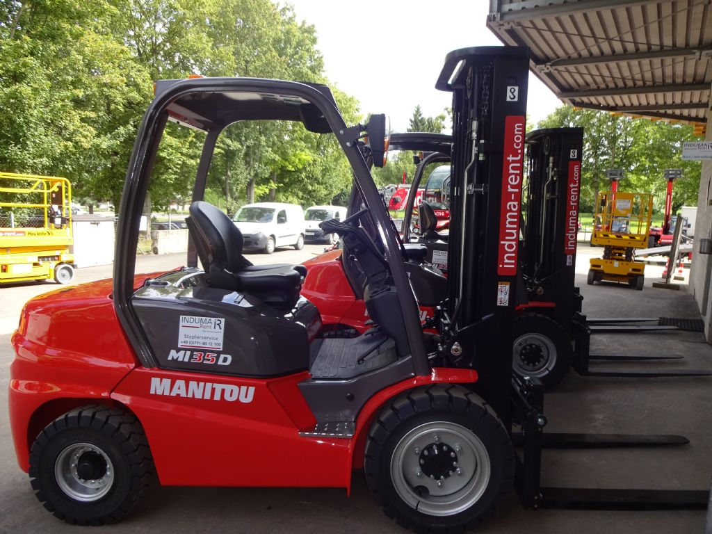 Manitou-MI 35D  Vorführgerät-Diesel Forklift -www.induma-rent.com