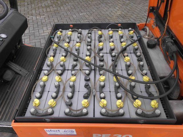 Steinbock Boss-PE 30-Elektro 4 Rad-Stapler -www.isfort.com