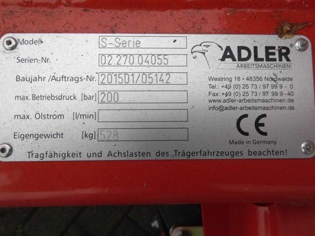 Adler-ADLER S-Serie -Schneeschieber -www.isfort.com