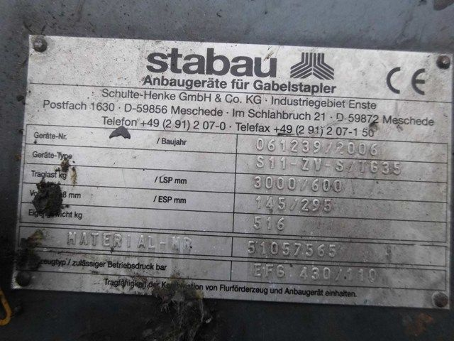 Stabau-S11-ZV-S/TG35-Zinkenverstellgerät -www.isfort.com