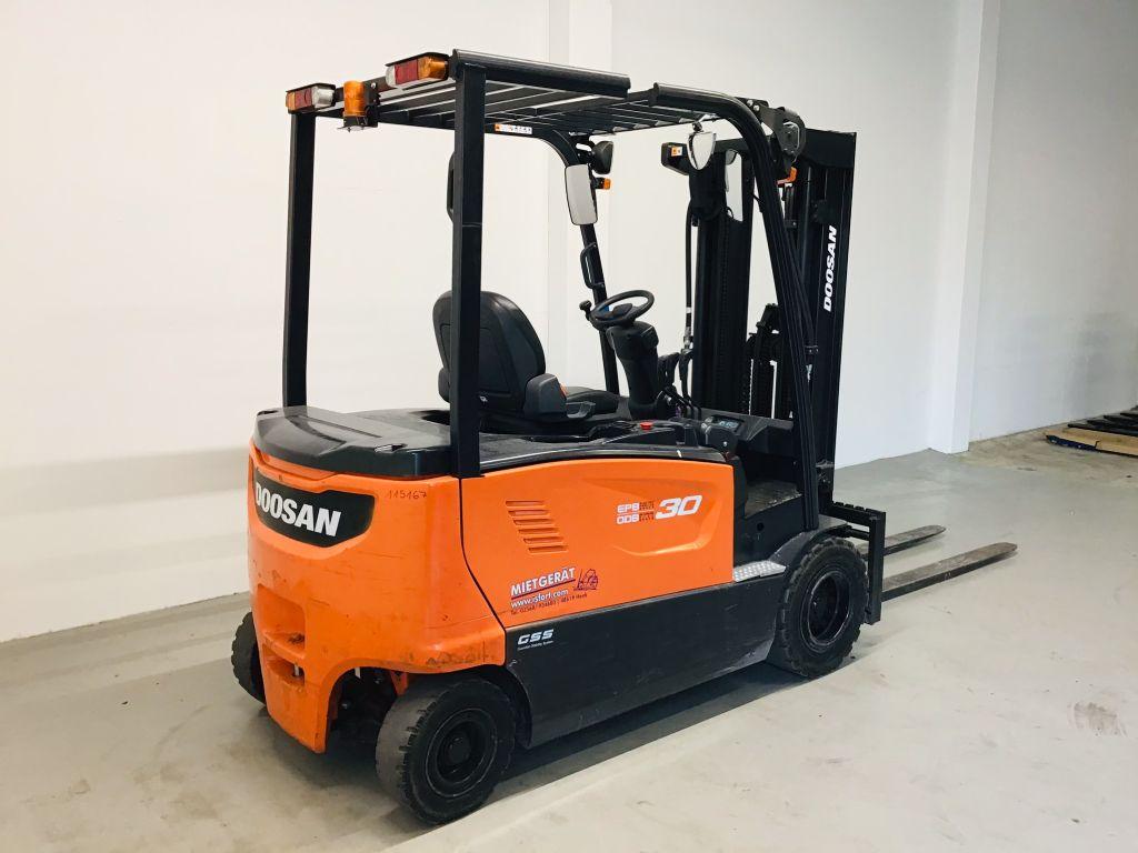 Doosan-B30X-7-Elektro 4 Rad-Stapler -www.isfort.com